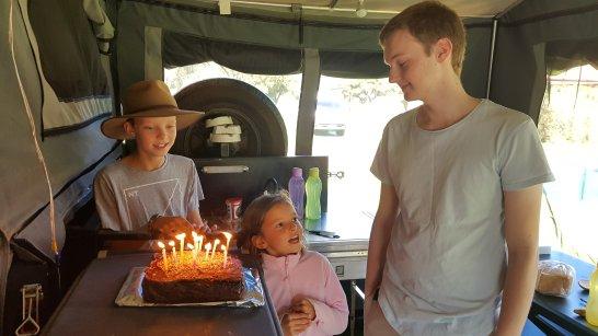 Jacks birthday cake