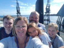 Submarine selfie