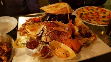 Birthday seafood platter